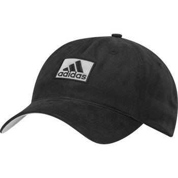 【Adidas】2016男時尚全棉高爾夫球黑色帽子(預購)