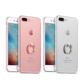 【hoco】Apple iPhone 7 Plus 金屬指環支架 TPU 軟套