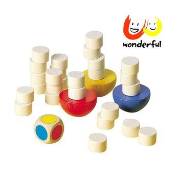 【Selecta 木製遊戲玩具】平衡疊疊樂