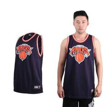 【NBA】紐約尼克-女美國職籃籃球球衣-運動背心 NEW YORK KNICKS 丈青橘