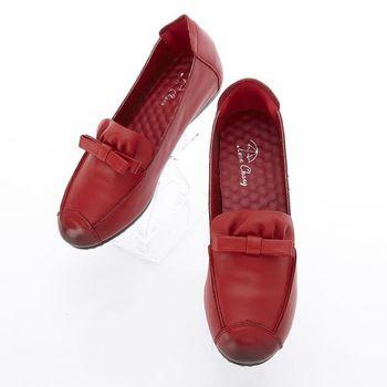 LC雨傘復古牛皮極修飾增高女鞋