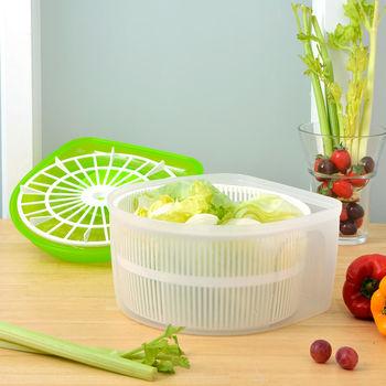 日本MAKINOU 多功能省力沙拉蔬果脫水器