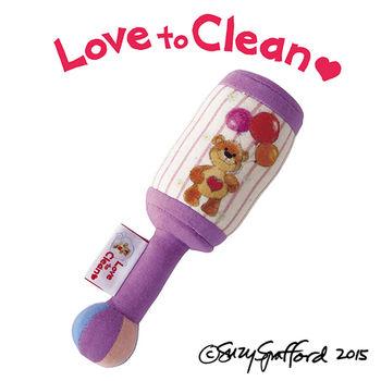 【日本People】Suzy's Zoo布玩具系列-手搖鈴