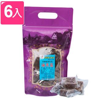 向家養生食品 頂級黑糖桂圓紅棗海燕窩 500g (6包入)