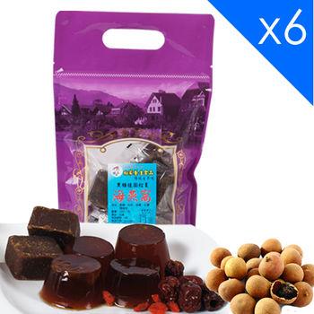 向家養生食品 頂級黑糖桂圓紅棗海燕窩 500g/包  6包入