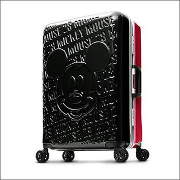 Deseno Disney 迪士尼 米奇 1928復古浮雕 多色 鋁框 24 吋行李箱 旅行箱 DL8655