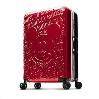 Deseno Disney 迪士尼 米奇 1928復古浮雕 多色 鋁框 28 吋行李箱 旅行箱 DL8655