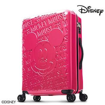 Deseno Disney 迪士尼 米奇 1928復刻浮雕 多色 PC鏡面拉鍊 28吋行李箱 旅行箱 送好禮 CL8655