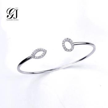 [晉佳珠寶] Gemdealler Jewellery  絕美亮眼18K金鑽石手環
