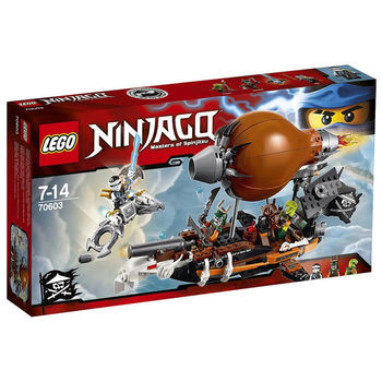 【LEGO 樂高積木】Ninjago 忍者系列- 襲擊海盜飛船 LT 70603