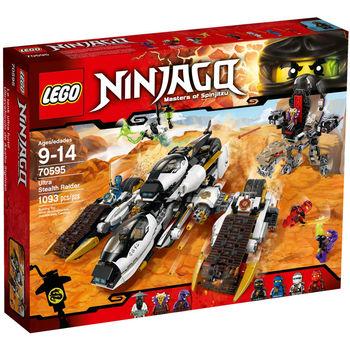 【LEGO 樂高積木】Ninjago 忍者系列-進化隱形追擊車 LT 70595