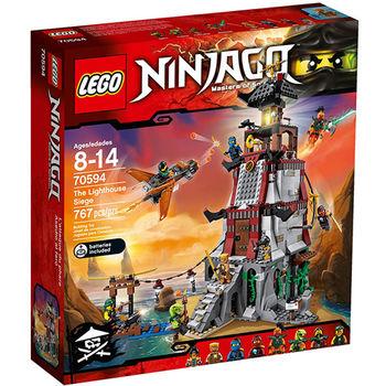 【LEGO 樂高積木】Ninjago 忍者系列-燈塔攻防守衛戰 The Lighthouse LT 70594