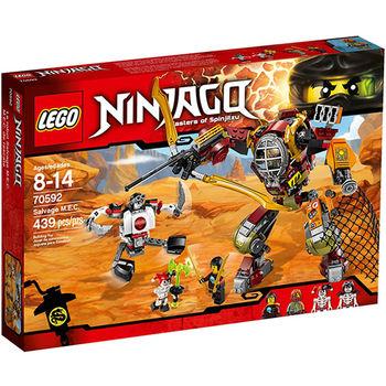【LEGO 樂高積木】Ninjago 忍者系列-M.E.C.機甲機器人 LT 70592
