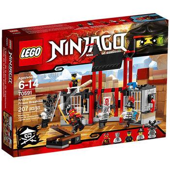 【LEGO 樂高積木】Ninjago 忍者系列-忍者監獄突圍 LT 70591