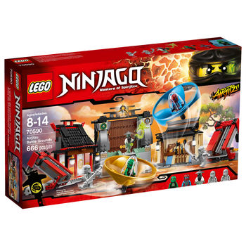 【LEGO 樂高積木】Ninjago 忍者系列-飛天忍者競技試煉場 LT 70590