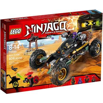 【LEGO 樂高積木】Ninjago 忍者系列-岩石衝鋒越野戰車 LT 70589