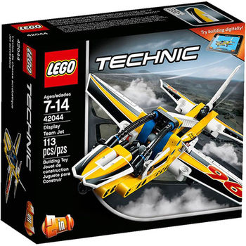 【LEGO 樂高積木】Technic 科技系列-小組表演噴射機 LT 42044
