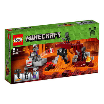 【LEGO 樂高積木】Minecraft 創世神系列-The Wither LT 21126