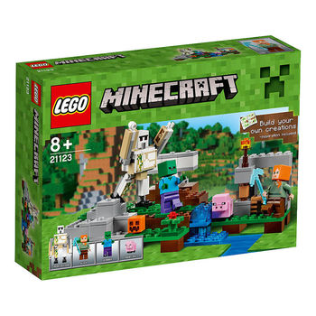 【LEGO 樂高積木】Minecraft 創世神系列-The Iron Golem LT 21123
