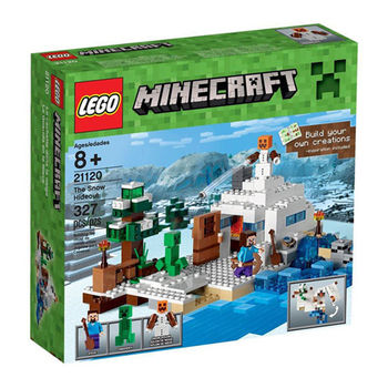 【LEGO 樂高積木】Minecraft 創世神系列-The Snow Hideout LT 21120