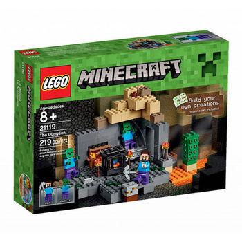 【LEGO 樂高積木】Minecraft 創世神系列-The Dungeon LT-21119