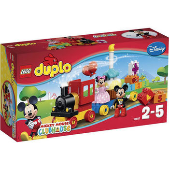 【LEGO 樂高積木】DUPLO 得寶系列-米奇和米妮的生日巡遊典禮 LT 10597