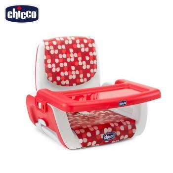 chicoo-Mode攜帶式兒童餐椅座墊-點點紅