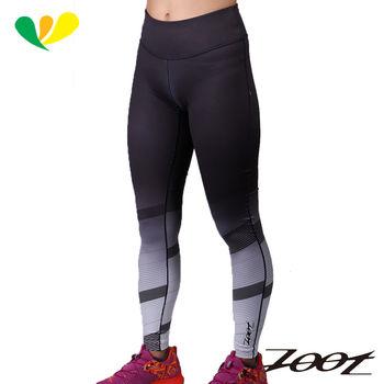 ZOOT 玩美超彈力緊身長褲(速線白) (女) Z1604070