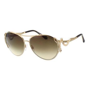 Roberto Cavalli 雷朋型 蛇形 太陽眼鏡(金色)