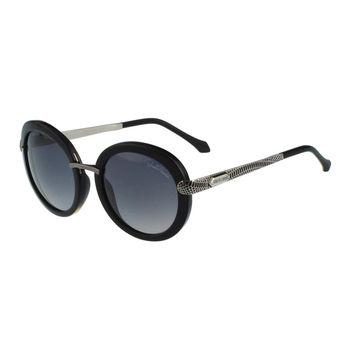 Roberto Cavalli 復古圓框太陽眼鏡(黑色)