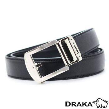 DRAKA 達卡-圓弧簡約型自動帶皮帶-41DK5312