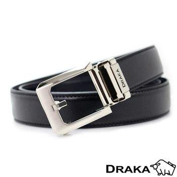 DRAKA 達卡-方正簡約型自動帶皮帶-41DK5313
