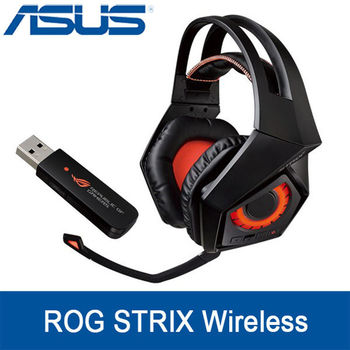ASUS 華碩 STRIX Wireless 電競 耳機麥克風 (梟鷹無線7.1耳機)