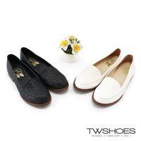 ~TW Shoes~編織 簡約 低跟紳士鞋~K130BEJ007~
