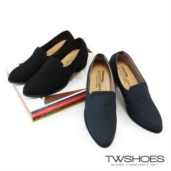 【TW Shoes】簡約柔軟皮革低跟尖頭包鞋【K130BEJ010】