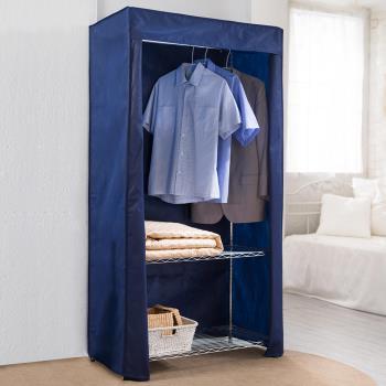 【樂活玩家】三層波浪衣櫥架 90x45x180 cm