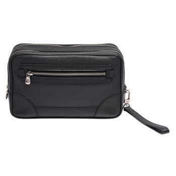 LV M32902 NEO PAVEL系列 Taïga皮革手拿包(黑)