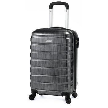 America Tiger 黑色髮絲紋20吋行李箱