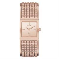 DKNY Bryant Park 女王派對手環腕錶 ^#45 玫瑰金 ^#47 22mm