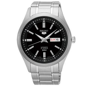 【SEIKO 精工】5號盾牌大三針日曆機械腕錶(42mm/7S26-04M0D)