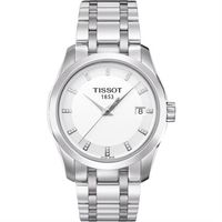 TISSOT 天梭 建構師 晶鑽女錶~銀 32mm T0352101101600