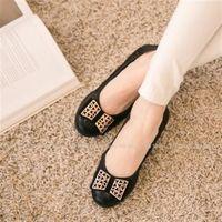 ~TW Shoes~金飾 晚宴風坡跟娃娃鞋 ^#40 K230A3181 ^#41