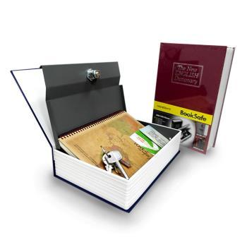 【守護者保險箱】仿真 書本 字典型 保險箱【四色可選】大尺寸 保險櫃 保管箱 私房錢 除物箱 收納箱 單鑰匙款