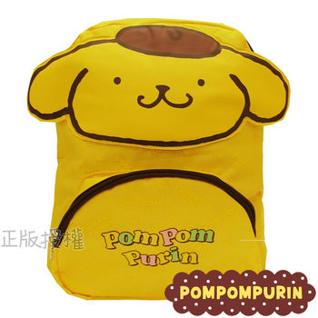 【布丁狗PomPom Purin】學齡前專屬幼兒後背書包(黃色)