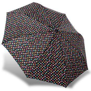rainstory雨傘-長鬚貓(黑)抗UV雙人自動傘