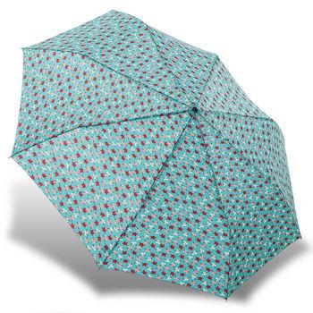 rainstory雨傘-長鬚貓(藍綠)抗UV雙人自動傘