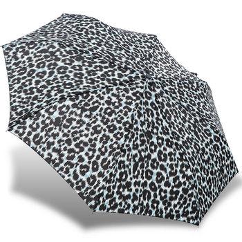 rainstory雨傘-都會豹紋抗UV雙人自動傘