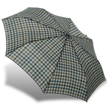 rainstory雨傘-都會格紋抗UV雙人自動傘