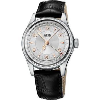 Oris Big Crown Original 指針式日期機械腕錶-銀/40mm 0175476964061-0752053