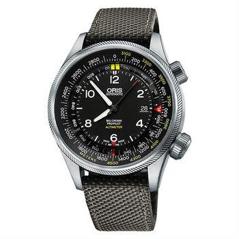 ORIS ProPliot Altimeter高度儀飛行錶-47mm 0173377054164-Set52317FC